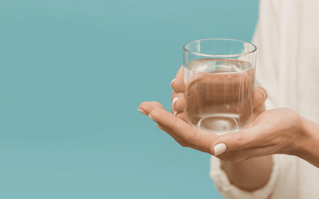 Bere acqua pulita